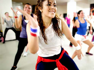 Zumba classes at Oceans