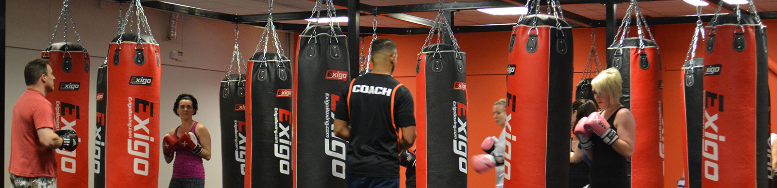 High intensity, non-contact boxing sessions for any level of fitness