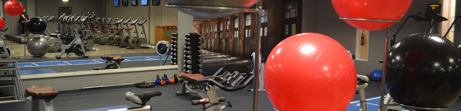 The Oceans gym includes a range of cardio and resistance equipment